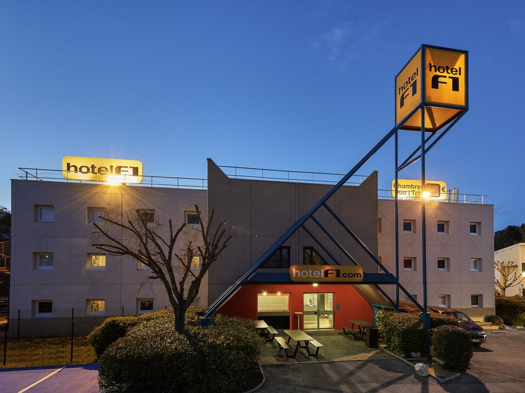 Htel MARSEILLE HotelF1 Marseille Valentine