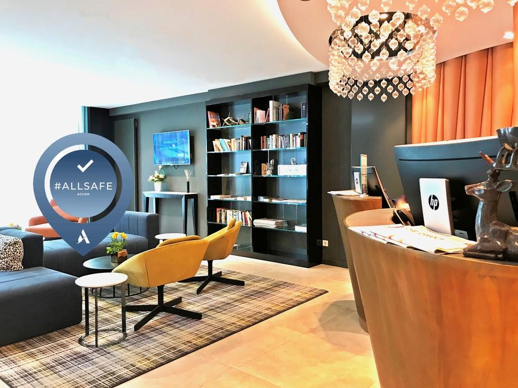 4 Star Hotel Frankfurt City Centre Mercure Accor
