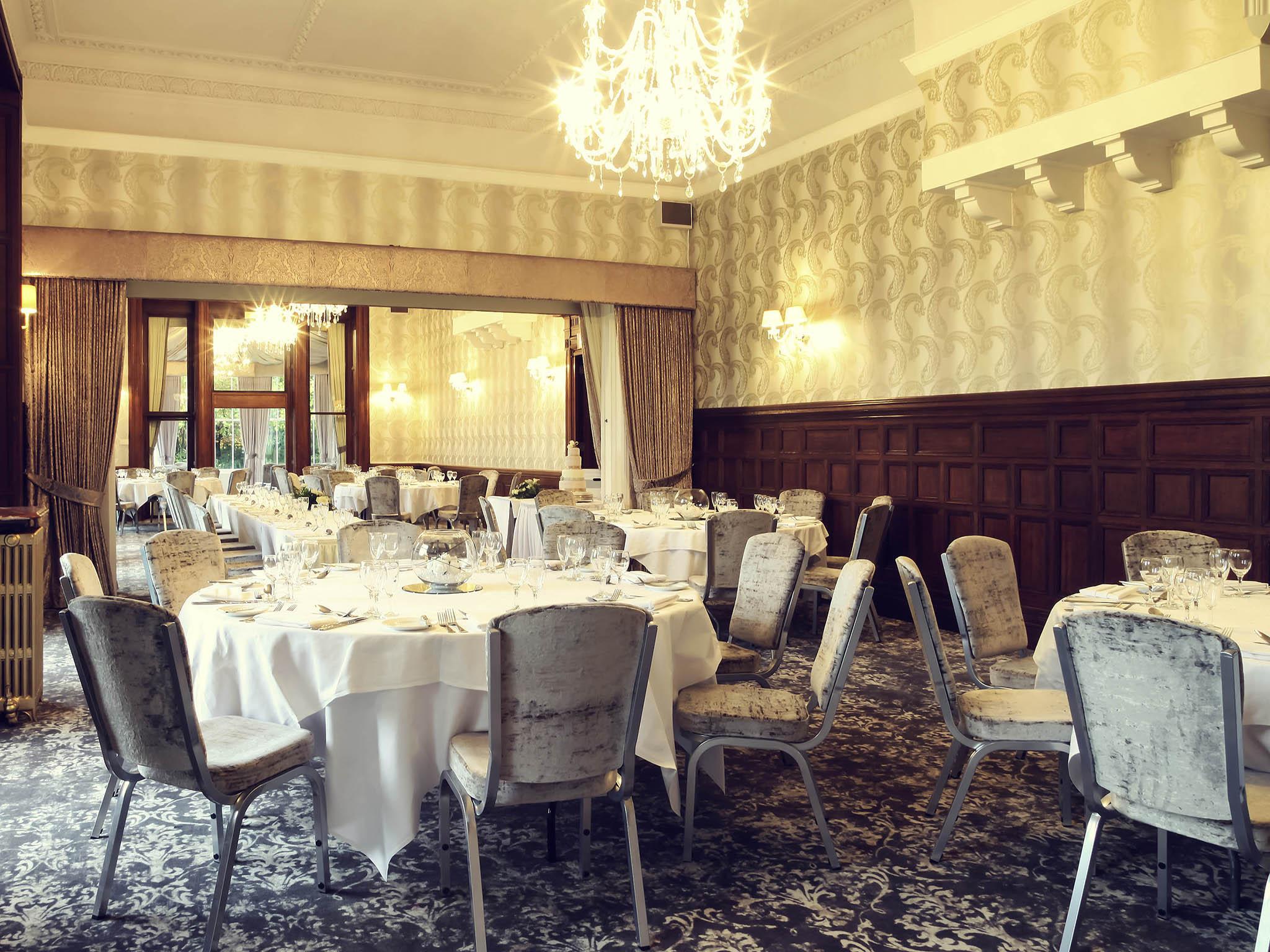 wedding chair covers burton on trent bean bag ikea mercure upon 4 star hotel in staffordshire weddings newton park