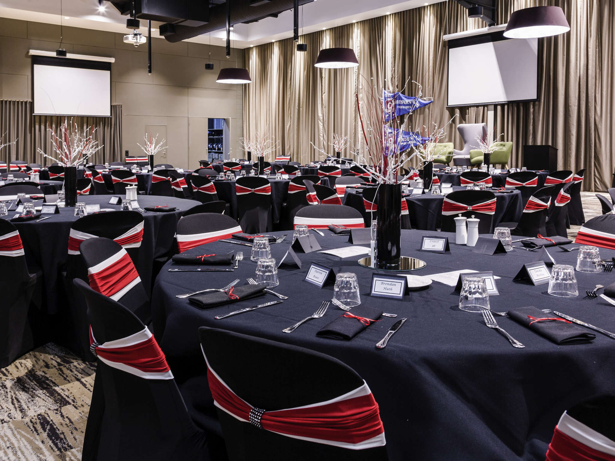 chair covers gladstone swivel cushions mercure accorhotels meetings and events