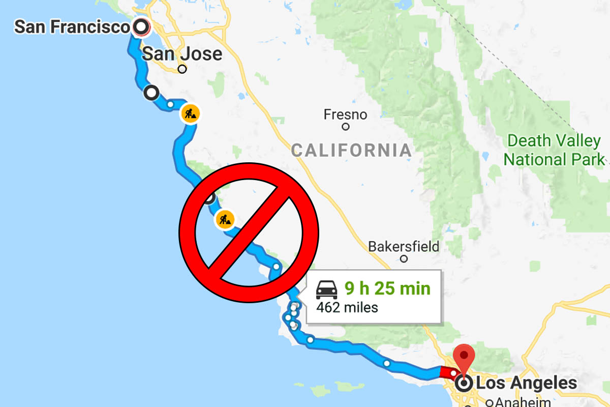 Update: California Highway 1 closed | AH travelguides & articles on