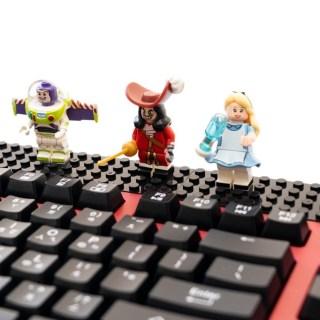 [開箱] 無線鍵盤滑鼠 + 積木!『i-Rocks 無線趣味積木鍵盤滑鼠組 IRK77RP-RD』可以輕鬆入手 @3C 達人廖阿輝
