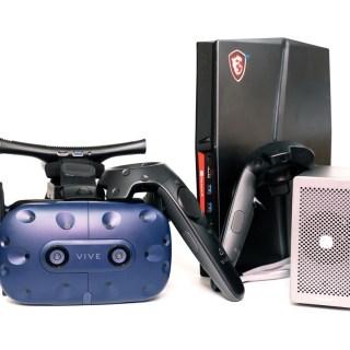 終於完全體!Vive / Vive Pro 無線套件 入手開箱/安裝/心得分享 (含 Thunderbolt 3 外接盒使用實測) @3C 達人廖阿輝