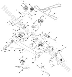 husqvarna yth24v48ls riding mower deck parts [ 1500 x 1636 Pixel ]