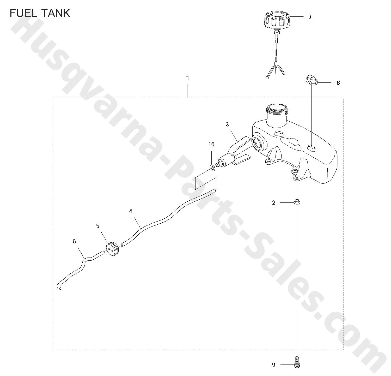 122hd45 Husqvarna Trimmer Amp Edger Hedge Trimmers Fuel Tank