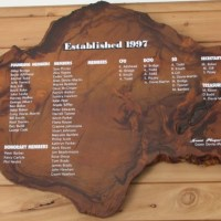 The kauri plaque