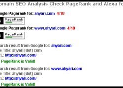 Eh? Dapat PageRank 4?
