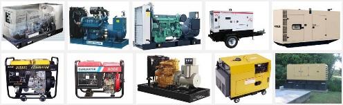 contoh diesel generator