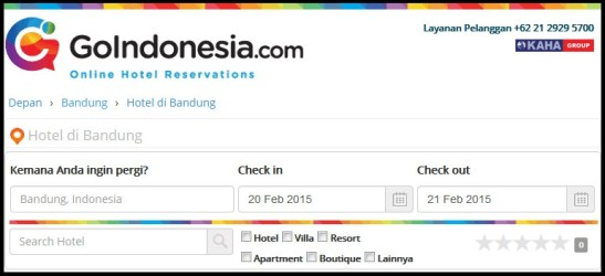 Hotel di Bandung Booking Hotel Murah