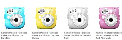 merawat polaroid camera