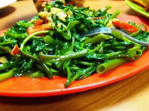 resep tumis kangkung saus tiram mudah enak
