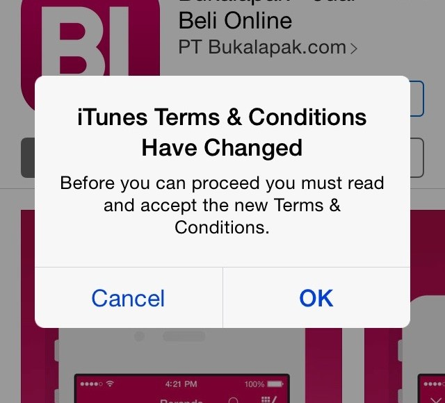 IMG_7246 Apps BukaLapak di App Store – Accept Terms and Conditions