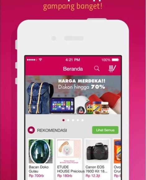 BukaLapak Apps Gampang Banget