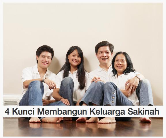 Kunci Membangun Keluarga Sakinah