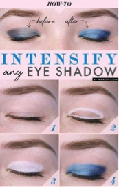 tips menerapkan eye shadow