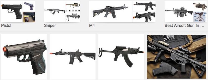 Jual Airsoft Gun Bagi Pemilik Usaha Outbound