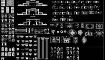 ☆【European Classical elements Blocks】☆ – Architectural