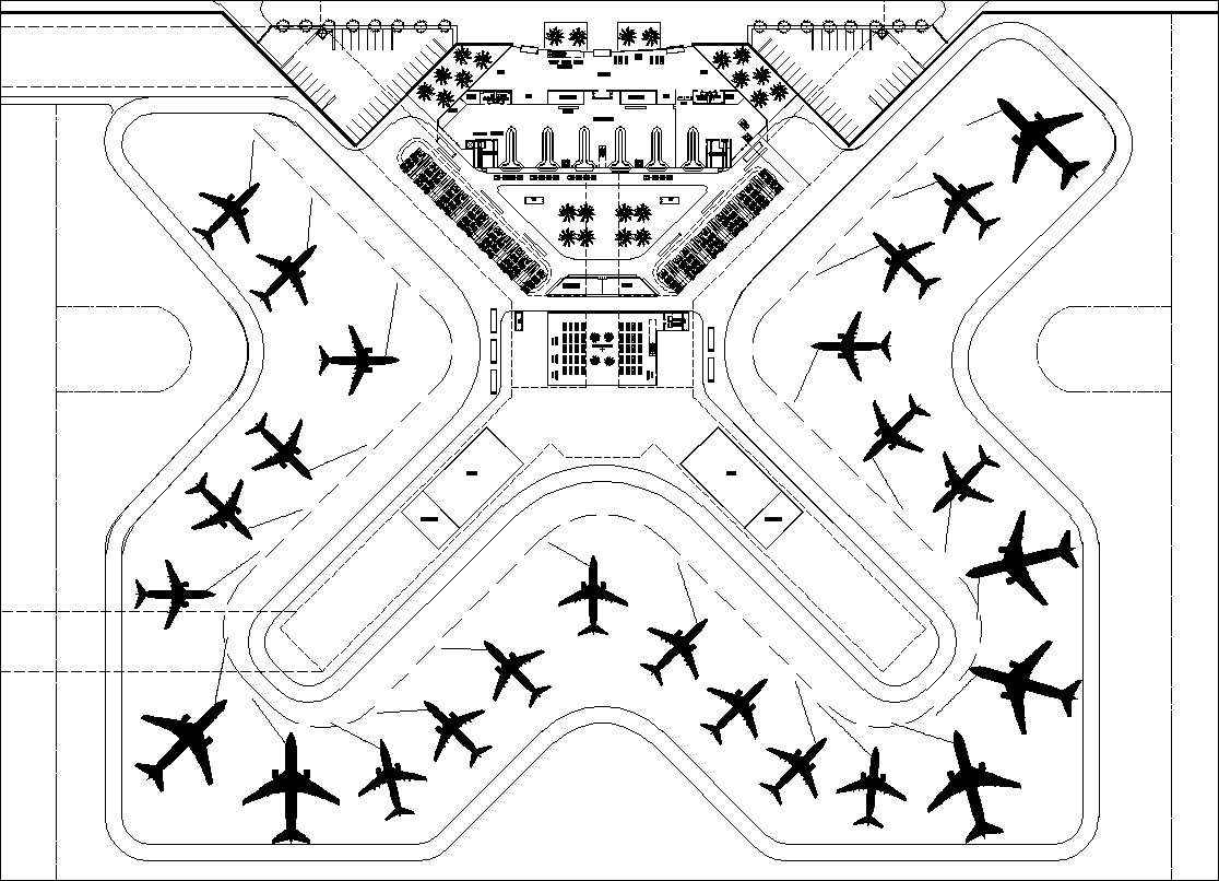 Airport Cad Drawings 1 Architectural Autocad Drawingsblocks