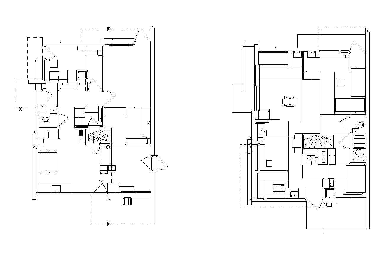 Schroder House – Architectural Autocad Drawings,Blocks,Details