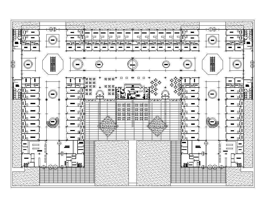 supermarket plan design  u2013 architectural autocad drawings