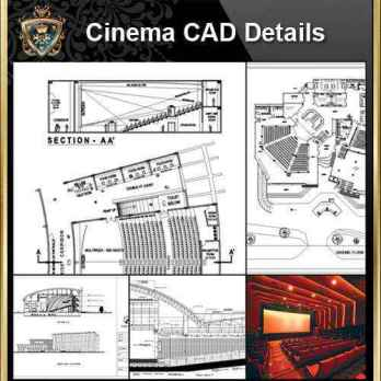 Architecture Details, Architecture drawings, Auditorium Design, Auditorium elevation design drawings, Auditorium Section, AuditoriumDetails, Autocad Blocks, Cinema Design, Cinema Details, Cinema elevation design drawings, Cinema Section, Decorative elements-Frame, home design, Interior Design CAD Collection, Landscape Architecture, Neoclassical Interiors Decor