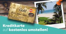 Kreditkarte kostenlos Umstellen