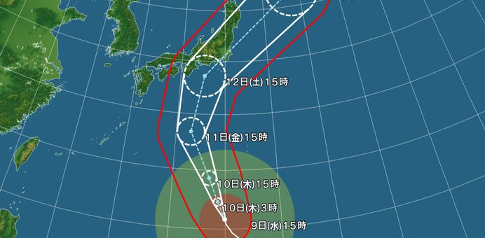 台風19号
