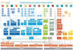 Association of Industry Analytics  Petrochemicals Flowchart
