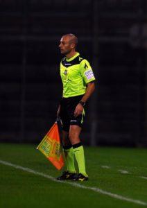 Michele Grossi durante la partita tra Perugia e Spal