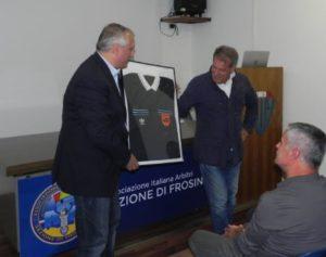 Paolo Iaboni e Franco Andreozzi con la divisa della Finale del 1992