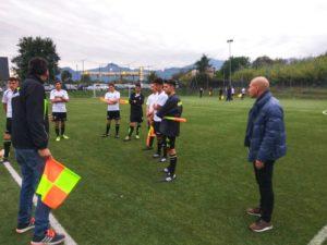 Luigi Galliano e Domenico Franchitto danno indicazioni agli assistenti