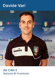 Vincenzo Fiorini - Arbitro CAN PRO