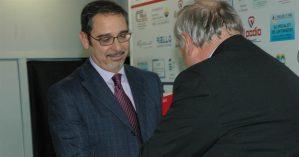 Il Presidente Puddu insieme a Ermelindo Bacchetta.