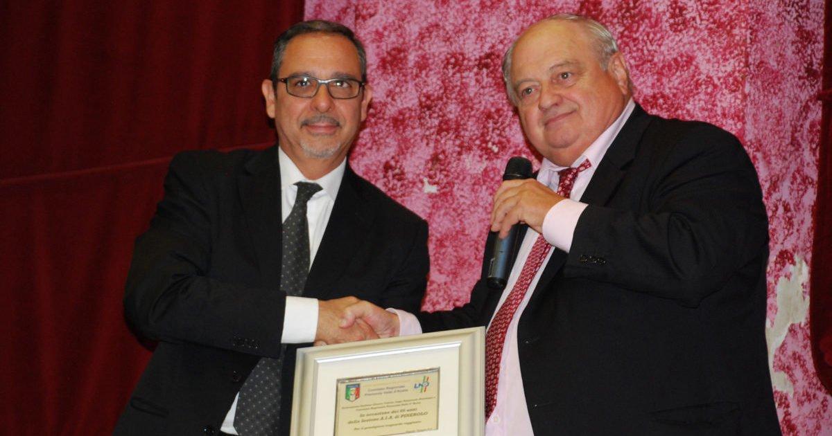 Ermelindo Bacchetta e il Presidente Puddu.