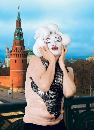 Vlad Mamyshev-Monroe, Monroe, from the StarZ series, 2005. Courtesy of XL Gallery.