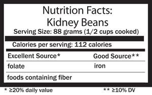 legumes nutrition facts