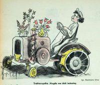 Traktorzystka, Kazimierz Grus , 1953