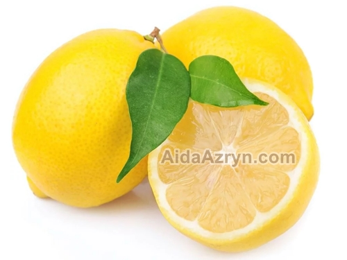 Lemon atau Jeruk Sebagai Obat Batuk Berdarah