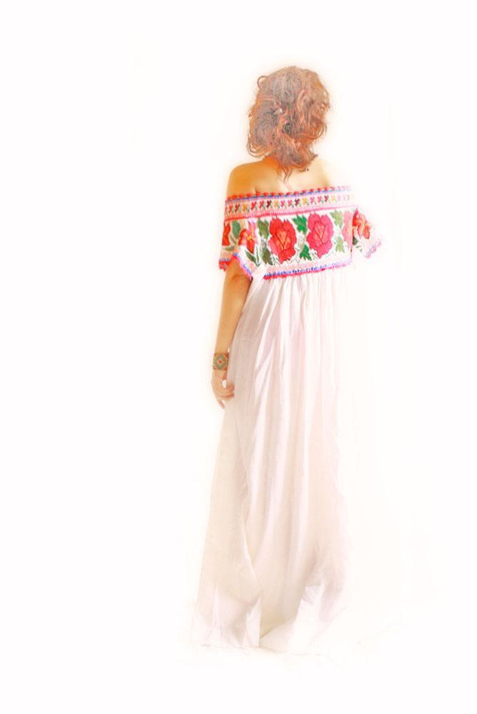 Handmade Mexican embroidered dresses and vintage treasures from Aida Coronado Mexican wedding