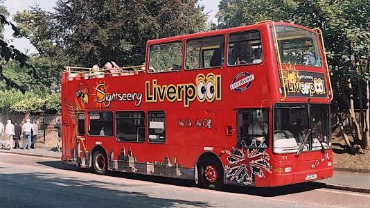 00a-Liverpool tour bus on Menlove Avenue