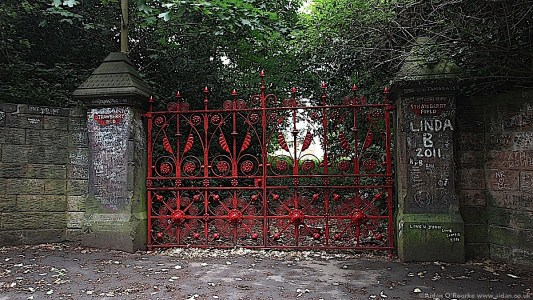 07 Strawberry Field Gates Beaconsfield Rd Liverpool