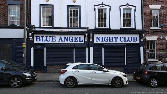 Blue Angel Night Club Seel Street