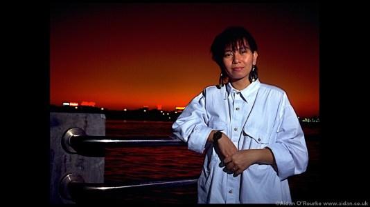 Portrait with off camera flash Dubai 1994