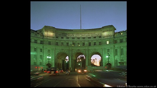 Admiralty Arch London (not used in video)