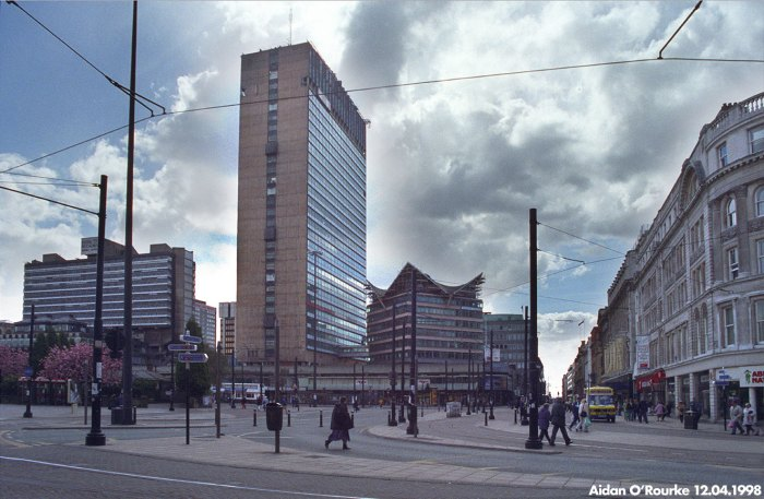 Manchester Piccadilly Plaza with Bernard House 1998