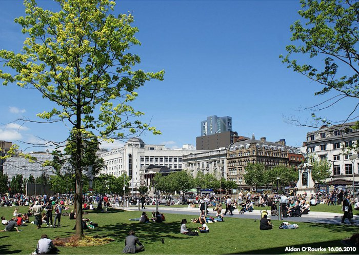 PIccadilly Gardens 2010