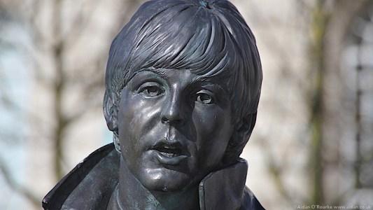 The Beatles Statues - Paul