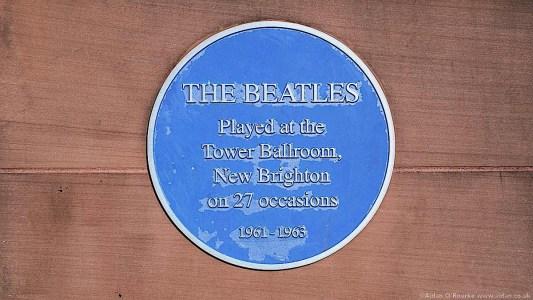 The Tower Ballroom New Brighton blue plaque