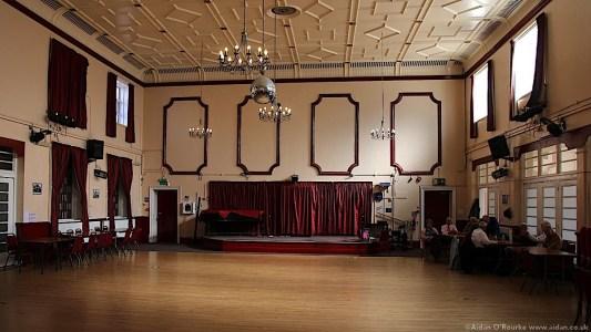 The Grosvenor Ballroom interior