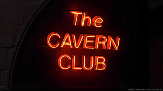 The Cavern Club neon sign Liverpool